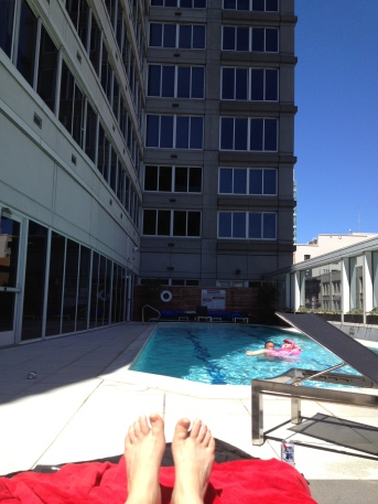 2013 07 13 By the Paramount Pool