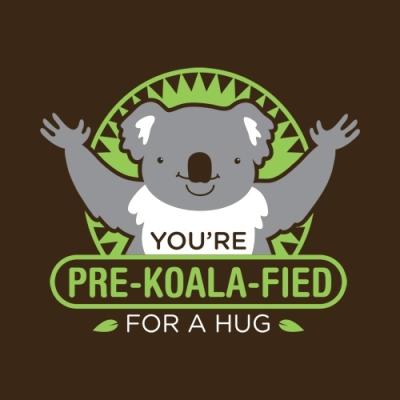 hug a koala